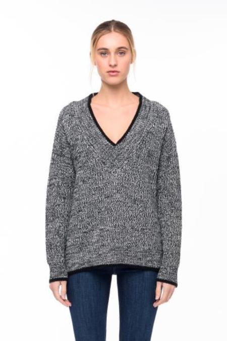 John+Jenn Maddox Sweater - Granite