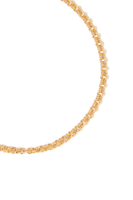 Tess+ Tricia Sophie Small Necklace - 24k gold-plated