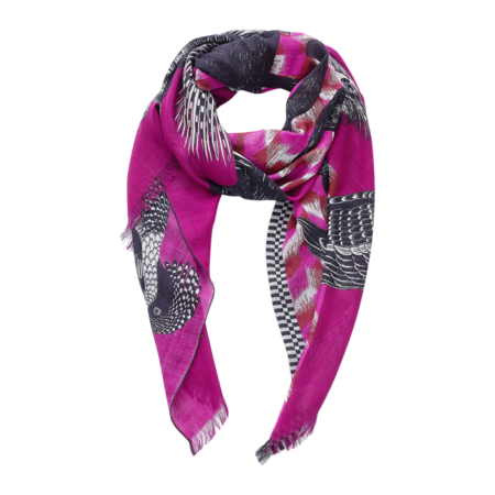 Inouitoosh Scarf Germain - Fuchsia