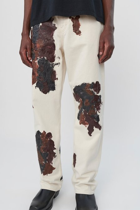 Our Legacy Dirty Denim Formal Cut Jeans - Cracked Color