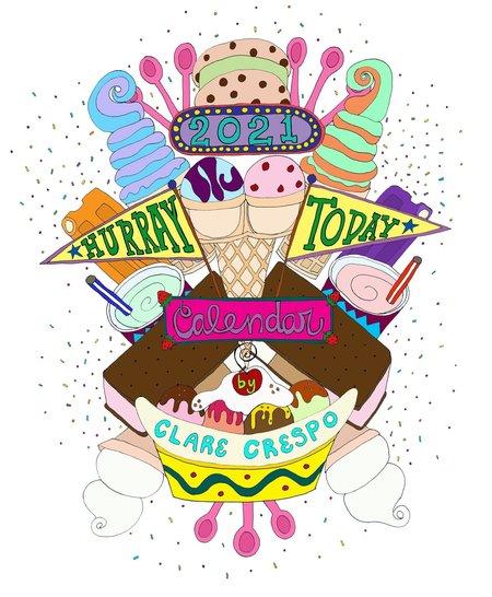 Clare Crespo Hurray Today Calendar