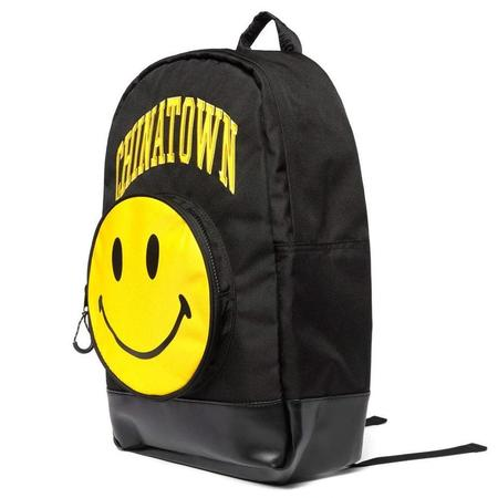 Chinatown Market Smiley Backpack - Black