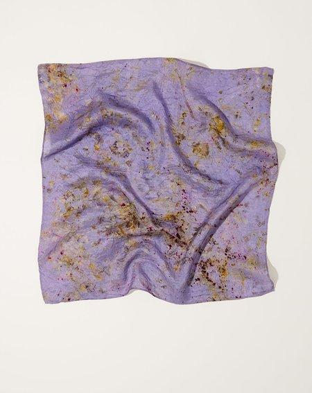 Soil to Studio Silk Bandana - Iris