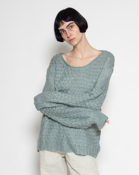 Shale Mare Sally Textured Sweater - Glacier