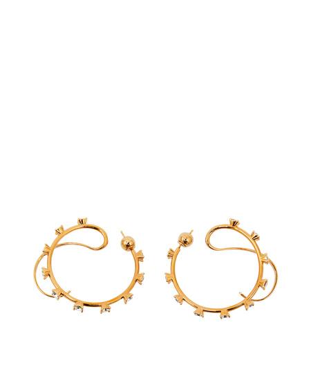 Panconesi Hoop Earrings - Gold