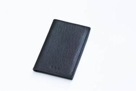 8.6.4 Leather Bifold Wallet - Black