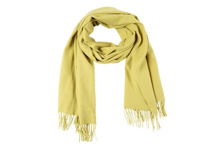 Clyde Albion Scarf - Chartreuse