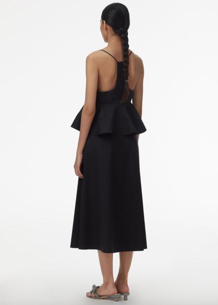 Tibi Back Wrap Skirt - Black