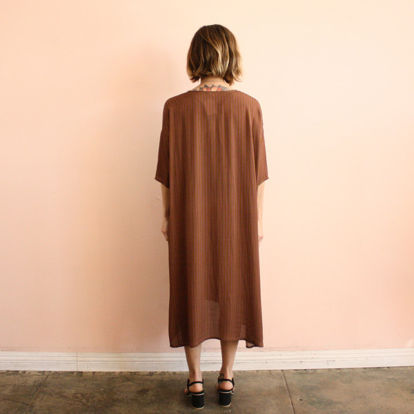 Ali Golden kimono dress