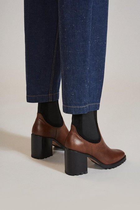 Rachel Comey Stunt Boot - Habano Nappa Leather