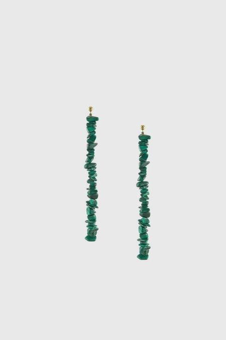 Paloma Wool Latonia Earrings - Forest Green