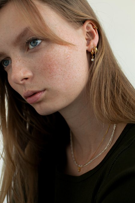 BRIE LEON Solid Everyday Mini Stud Earrings