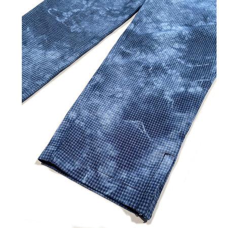 Raquel Allegra Drawstring Trouser - Blue Tie-Dye