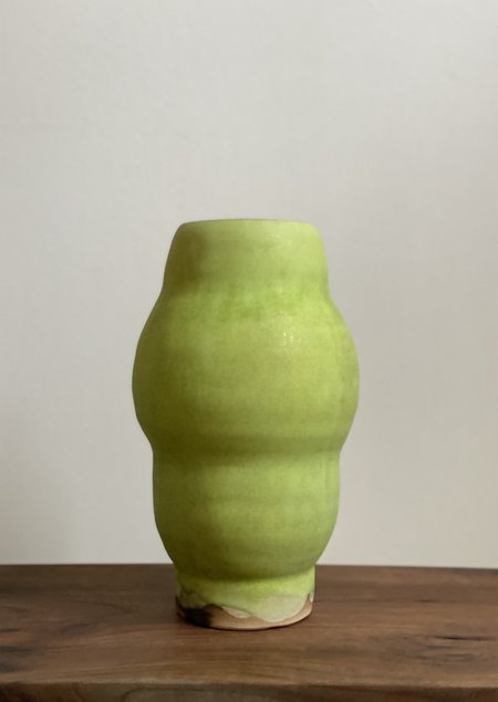 Raina Lee Arati Vase - Green