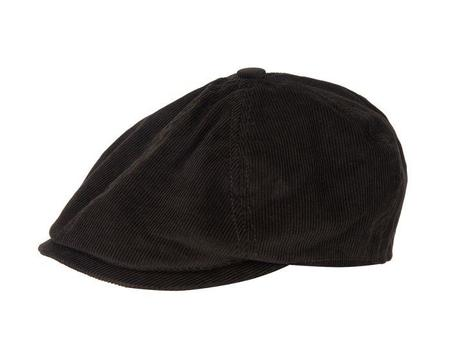 Barbour Nelson Bakerboy Corduroy Hat - Olive