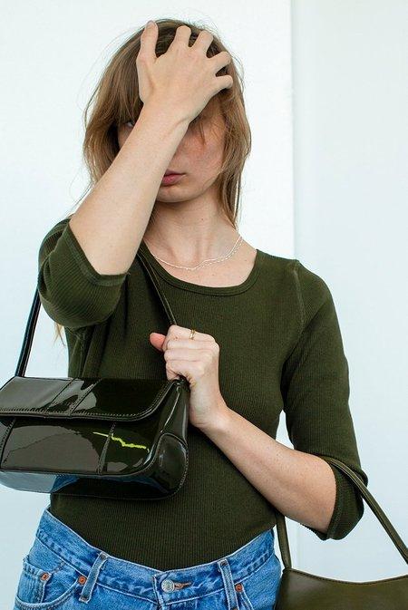 BRIE LEON The Chloe Handbag - Forest Green