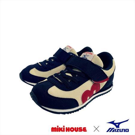 KIDS miki house & mizuno shoes - navy
