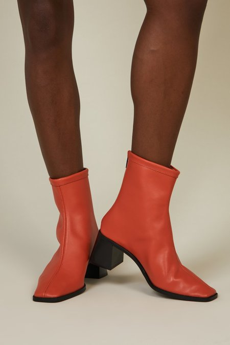 """INTENTIONALLY __________."" Kam Boots - Orange"