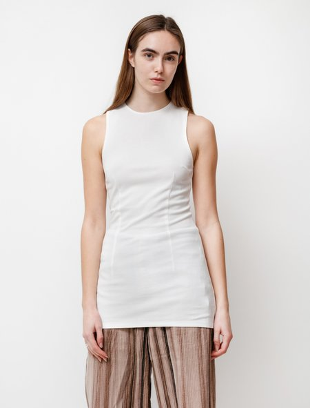 Our Legacy Racer Verve Jersey Tank - White