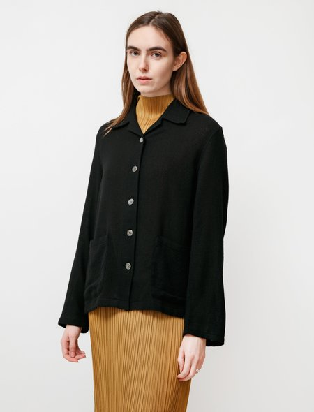 Our Legacy Square Sparse Wool Jacket - Black