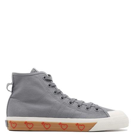 adidas by Human Made Nizza Hi shoes - Grey Five