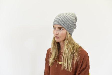 8.6.4 Cashmere Beanie - Heather Grey