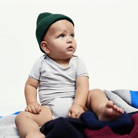 Kids Le Bonnet Beanie - Moss Green