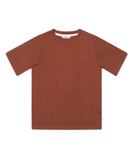 Wemoto Bleu Lyocell T- Shirt - Maroon