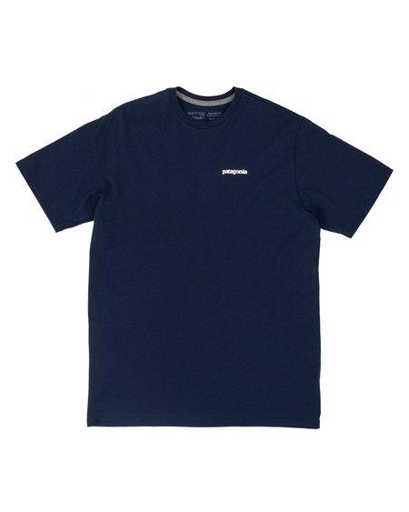 Patagonia Camiseta Logo P-6 Responsibili-Tee - Classic Navy