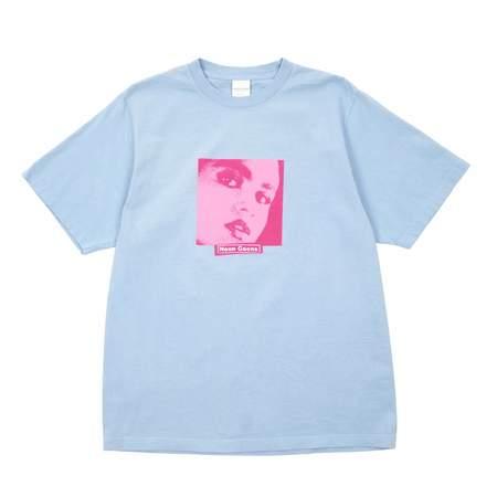 Noon Goons INFERNAL T-SHIRT - ASH BLUE