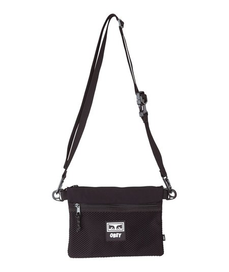 Obey Conditions Side Bag - Black