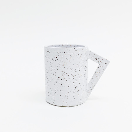 Lindsey Hampton Angle Handle Mug