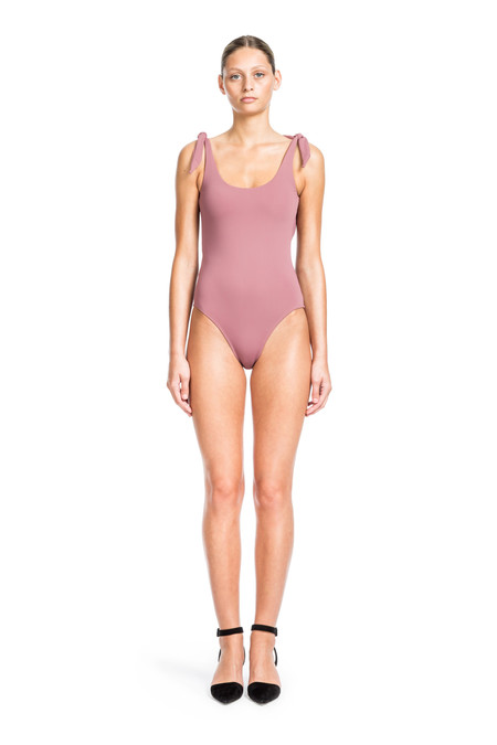 Beth Richards Coco One Piece - Petal  ONE PIECE WITH TIE SHOULDERS