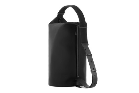 Troubadour Goods Leather/Nylon Barrel Bag
