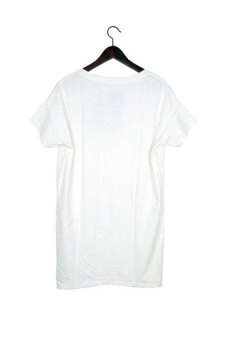Skargorn #60 Tee Dress - White Wash