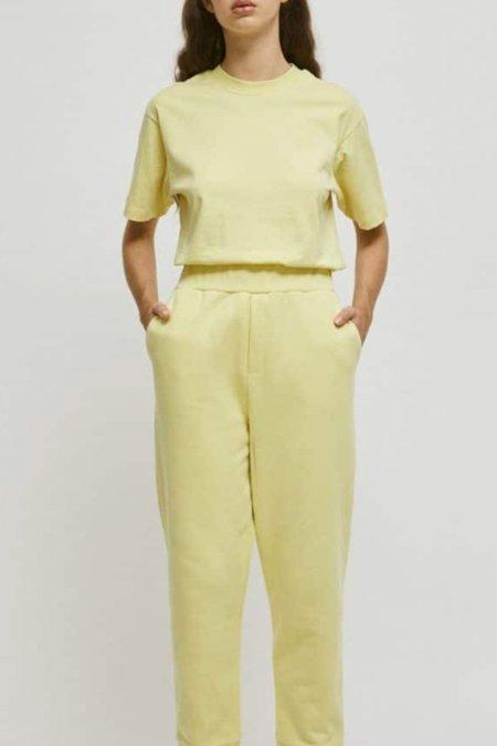 Unisex Rita Row Luisa Organic Cotton T-shirt - Yellow