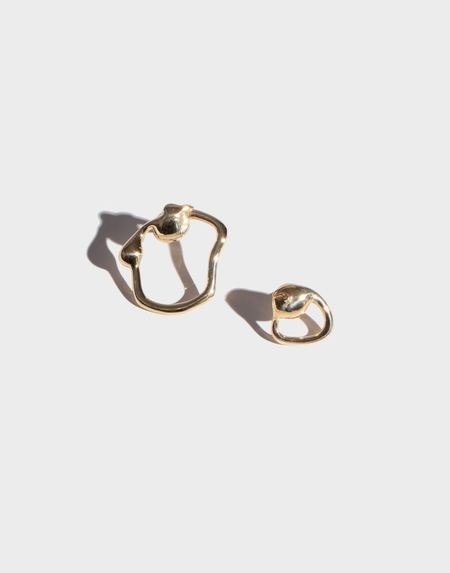 Modern Weaving Petite Extrusion Studs - Bronze
