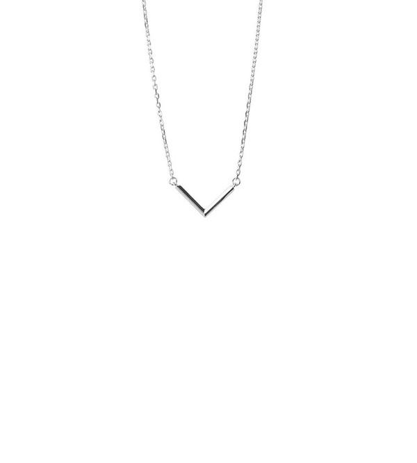 Maria Black Check Necklace