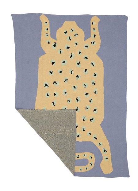 Cold Picnic Baby Sky Leopard Blanket