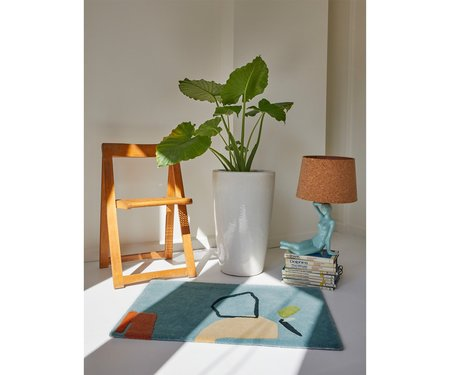 Cold Picnic Limits of Communication Hand Tufted Rug