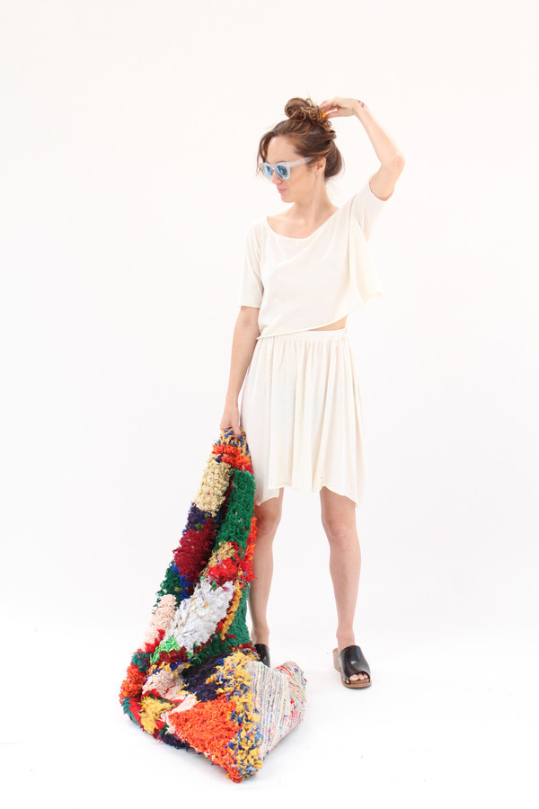 Beklina Detached Dress Ivory