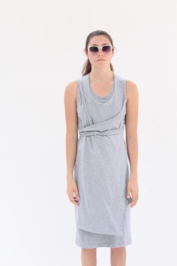 Lina Rennell Jersey Wrap Dress