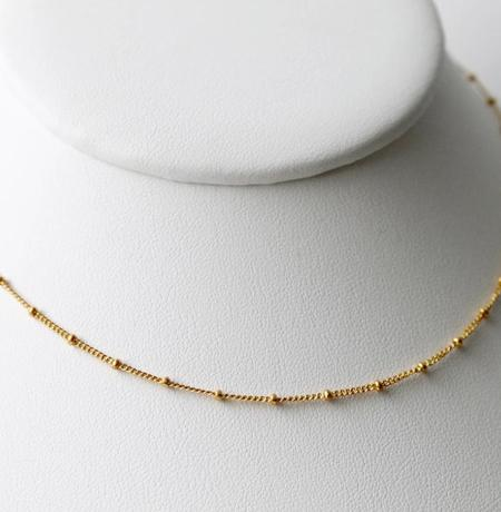 Little Hawk Satellite Choker - Gold