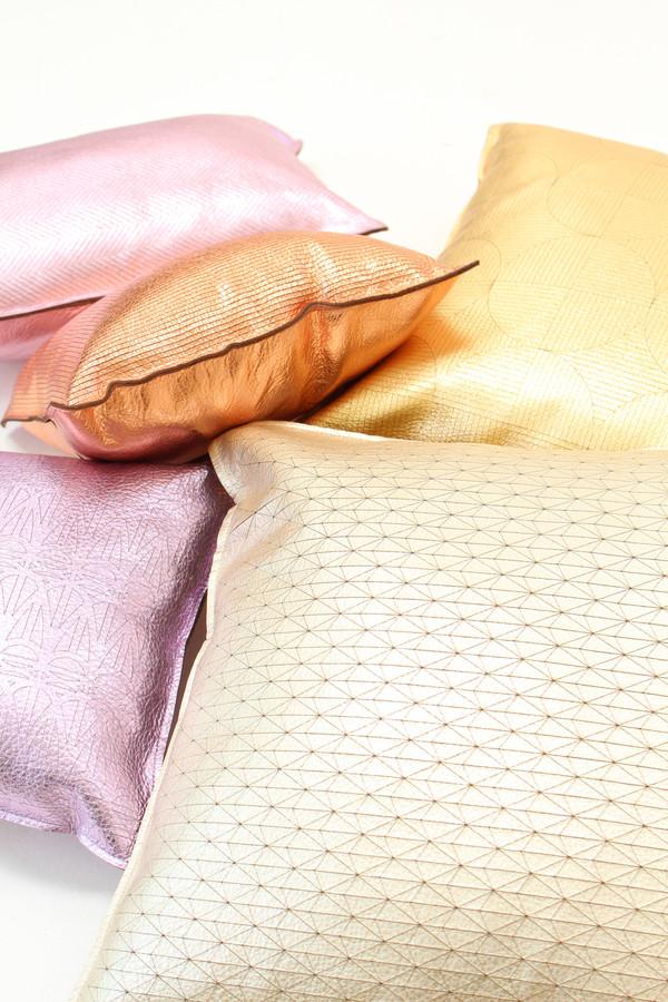Metallic Lavender Pillow Corwin