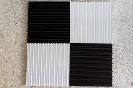 Souda Fin Black Coasters - Set of 2