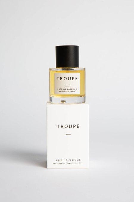 Capsule Parfumerie Troupe