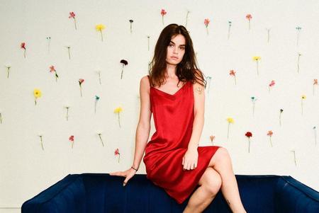 SiiZU The Silk V Dress