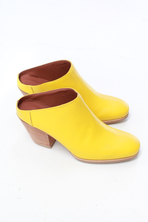 Rachel Comey Mars Mule Boot Canary