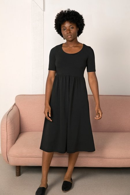 North Of West Flora Dress - Black