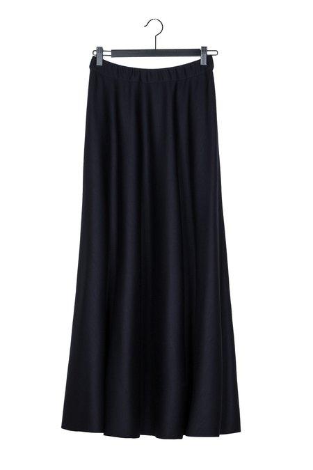 Elsien Gringhuis Long Wool skirt - Dark blue